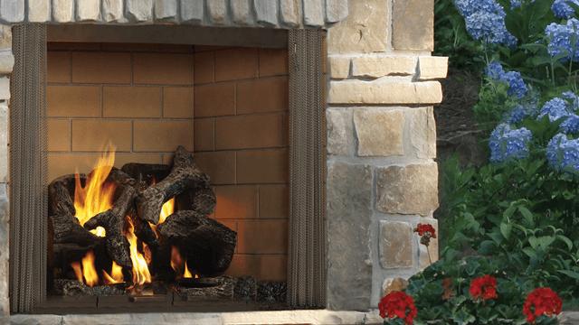 Heat N Glo Castlewood Wood Fireplace
