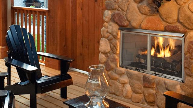 Heat N Glo Villa Gas Fireplace